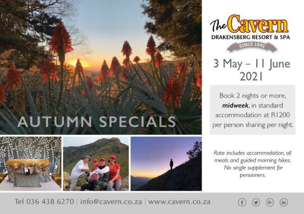 Autumn Specials 3 May - 11 June 2021