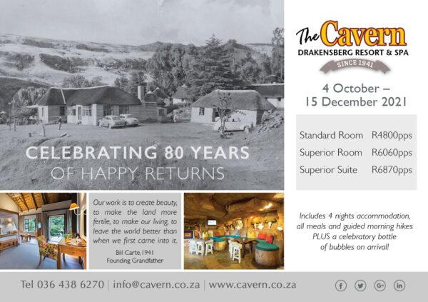 Celebrating 80 years of Happy Returns