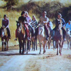 History Horse-riding