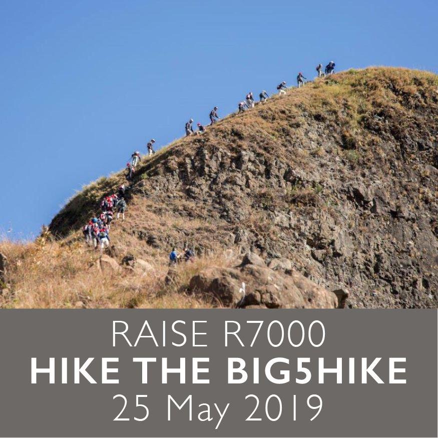 Raise R7000 | Hike the Big5Hike | 25 May 2019