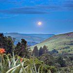 The Cavern moon rising